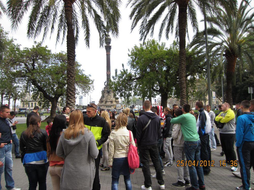 Elitna škola na ekskurziji u Barseloni