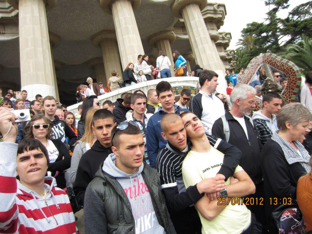 Đaci Elitne škole na ekskurziji u Barseloni