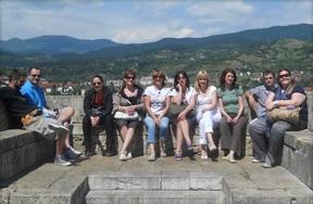 Nastavnici Elitne srednje škole na ekskurziji u Višegradu